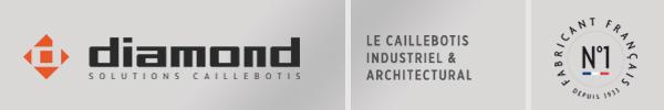 Diamond - Le caillebotis industriel & architectural